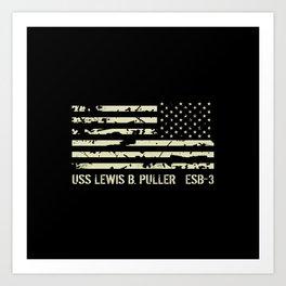 USS Lewis B. Puller Art Print