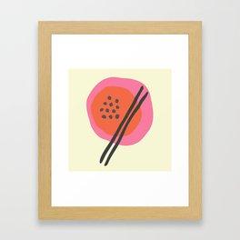 Frugal Food Sixties Framed Art Print