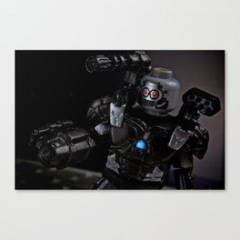 War Machine Canvas Print