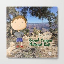 Grand Canyon National Park Service Centennial Metal Print