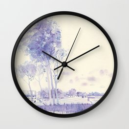 On the way to Haarlem Wall Clock