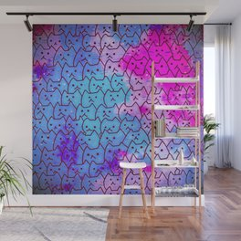 cats new colour 625 Wall Mural