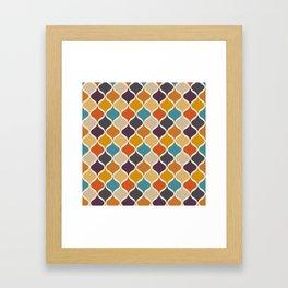 Moroccan Fall 3 Framed Art Print