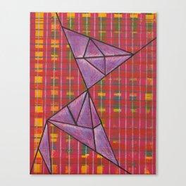 warp and weft // .02 Canvas Print