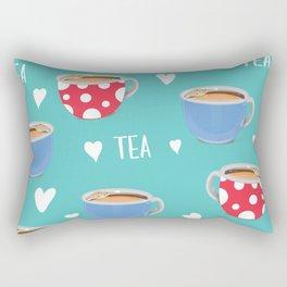 Love Tea Rectangular Pillow