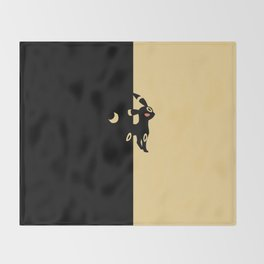 Umbreon Throw Blanket