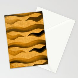 """Abstract Oriental Tiger"" Stationery Cards"