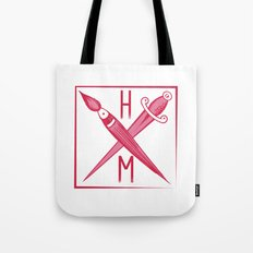 Brush and Dagger Tote Bag