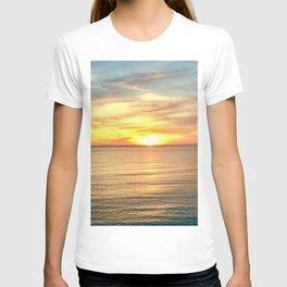 Tranquil Beach Sunset T-shirt