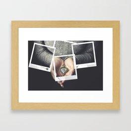 Polaroids Framed Art Print