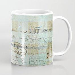 carnet de chèques Coffee Mug