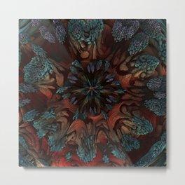Sunburst Supernova Metal Print