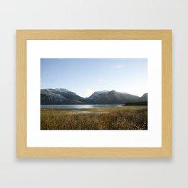 Owl Peak and Elk Ridge Framed Art Print