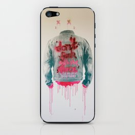 dont fuck wtf iPhone Skin