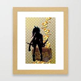 R1KKU Framed Art Print