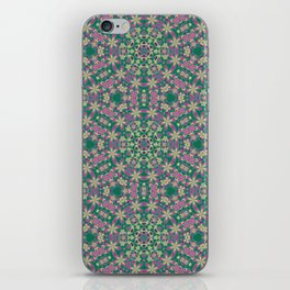 YELLO! Pink Flowers On The Lawn iPhone Skin