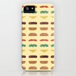 Build a Burger iPhone Case