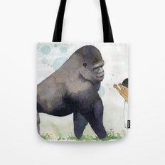 Hug me , Mr. Gorilla Tote Bag