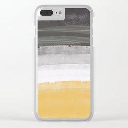 Coastal waves Clear iPhone Case