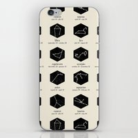 zodiac iPhone & iPod Skins featuring Zodiac by Dorothy Leigh