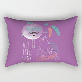 All the Way Rectangular Pillow