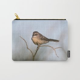 Bird in the morning light Carry-All Pouch