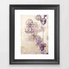 bien Framed Art Print