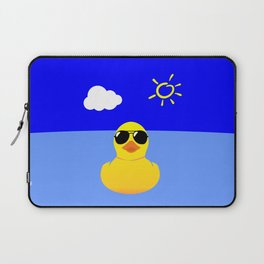 Cool Rubber Duck Yellow Laptop Sleeve