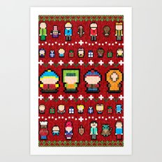 Sweater Park Art Print