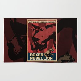 Boxer Rebellion  Rug