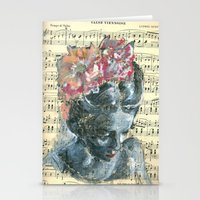 vienna Stationery Cards featuring Vienna Waltz by Spinning Daydreams