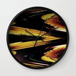 Flowers Can Be Fun v.6 Wall Clock