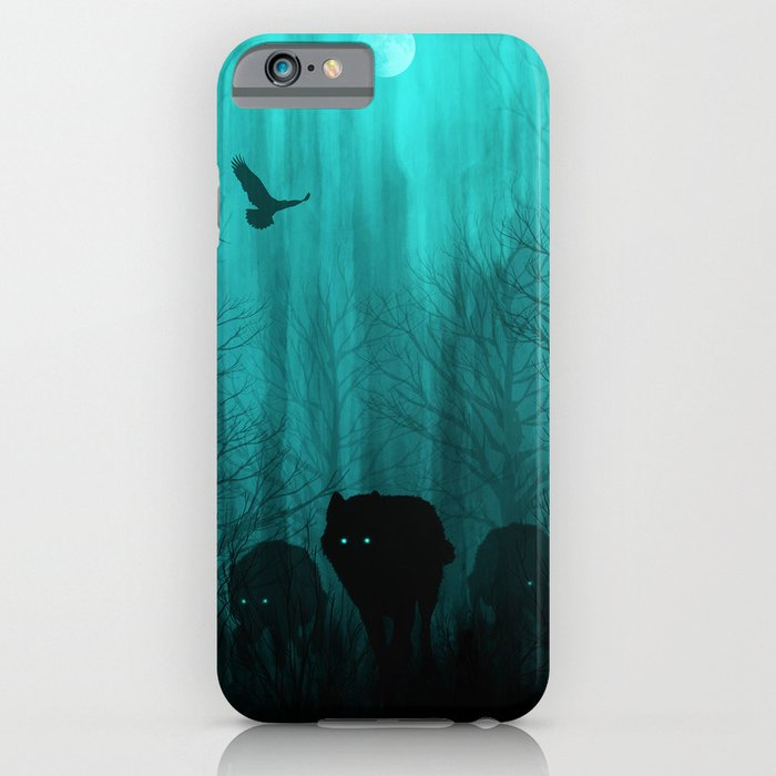 wolf pass iphone case