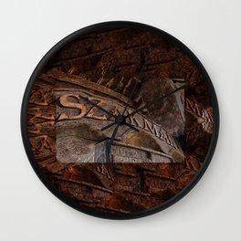 Hungary - Szakmar - Sign Wall Clock