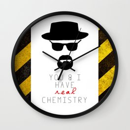 HEISENBERG BREAKING BAD Real Chemistry Wall Clock