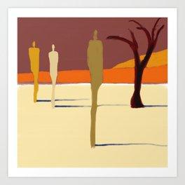 Nomad Afican Desert Art Print
