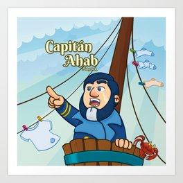 Capitán Ahab Art Print