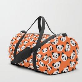 Happy Pandas Duffle Bag