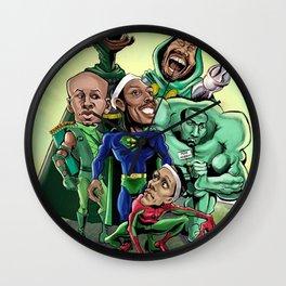hero basket ball Wall Clock