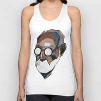 freud Tank Tops featuring Freud by PAFF
