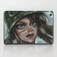 the winter soldier iPad Cases featuring Winter Soldier by Soggykitten™
