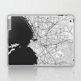 Marseille Map Gray Laptop & iPad Skin