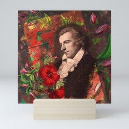 German Romantic Poet Friedrich von Schiller Mini Art Print