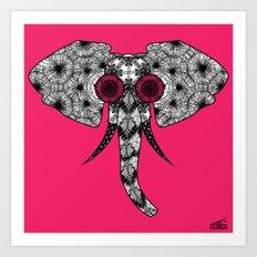 Elefunk Art Print