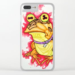 Futurama's Hypnotoad fanart Clear iPhone Case