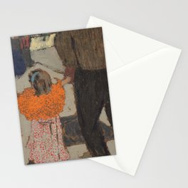 Édouard Vuillard - Child Wearing a Red Scarf Stationery Cards
