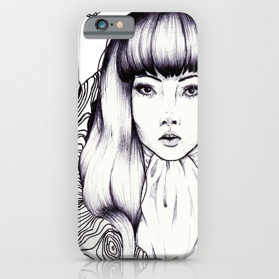 Tree Woman iPhone & iPod Case