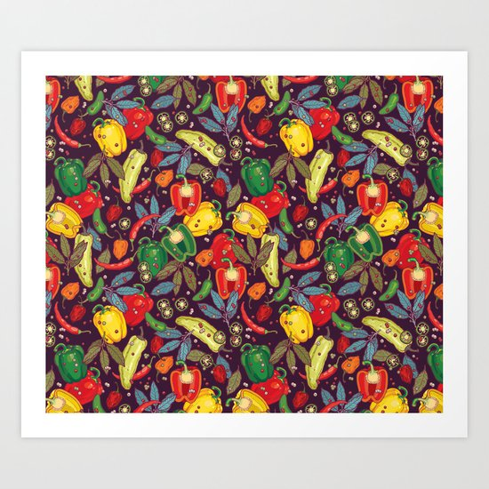 Hot & spicy! Art Print