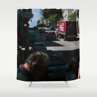 america Shower Curtains featuring America by HMS James