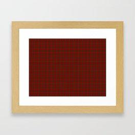 MacDuff Tartan Framed Art Print
